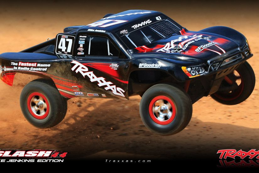 Traxxas Slash 4x4 1/16 Scale Pro 4WD Brushed Short-Course Race Truck