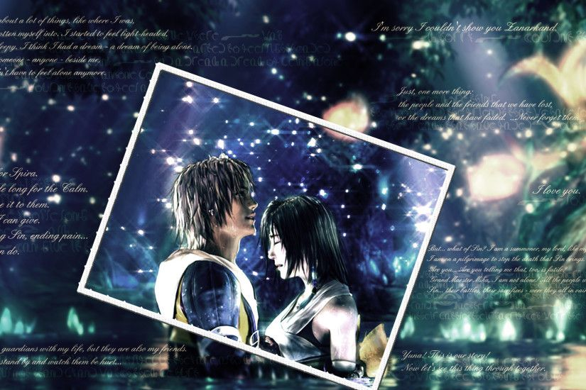 ... Memories - Final Fantasy X Wallpaper by Rose13Valentine