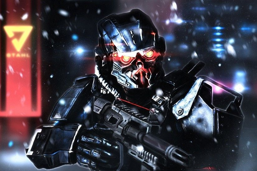 Video Game - Killzone: Shadow Fall Soldier Weapon Wallpaper