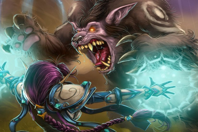 previous world of warcraft trading card wallpaper. Wolverine Attacking Mage