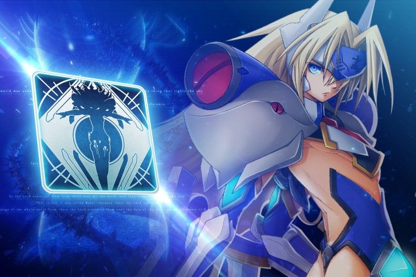 Preview wallpaper mu-12, blazblue, continuum shift, noel vermillion  3840x2160