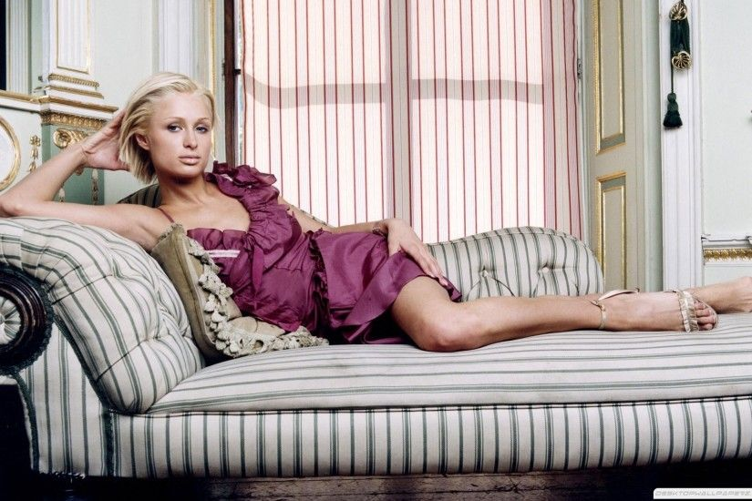 Paris Hilton In Sofa Jpeg 1920×1200 Wallpaper