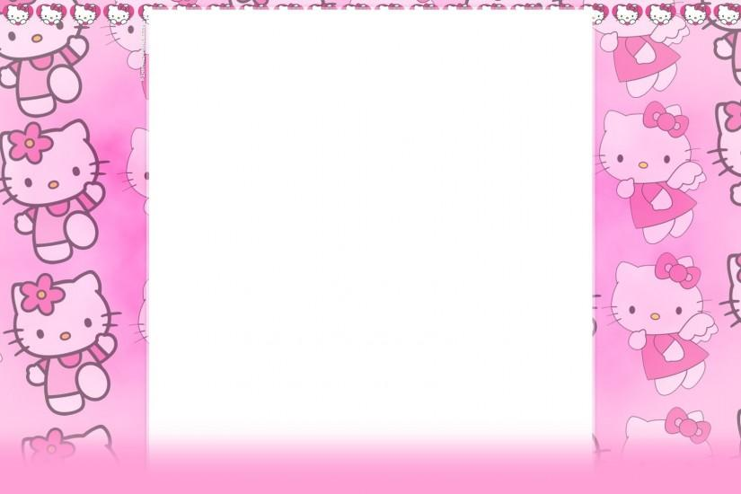 Hello kitty pink wallpaper.