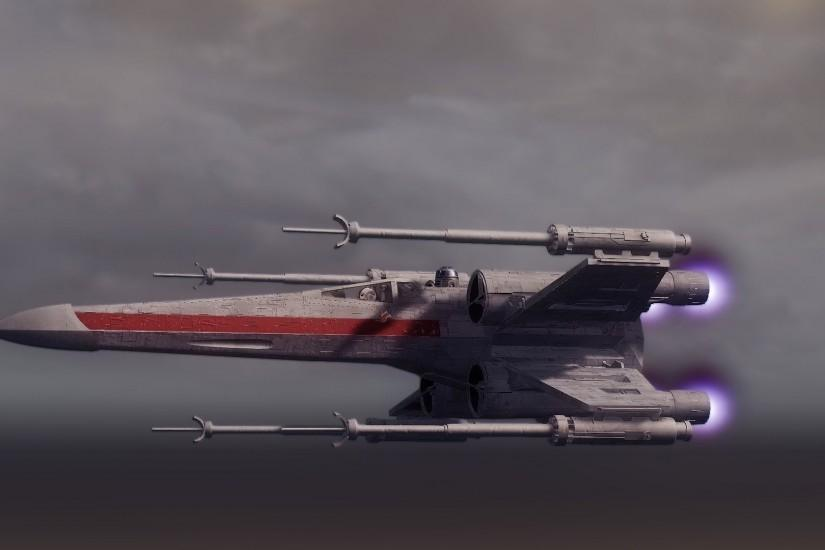 star wars star wars spacecraft x-wing flight