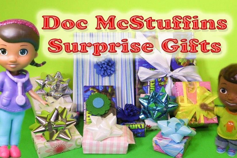 DOC MCSTUFFINS Disney Junior Doc McStuffins Birthday Surprises Toys Video -  YouTube