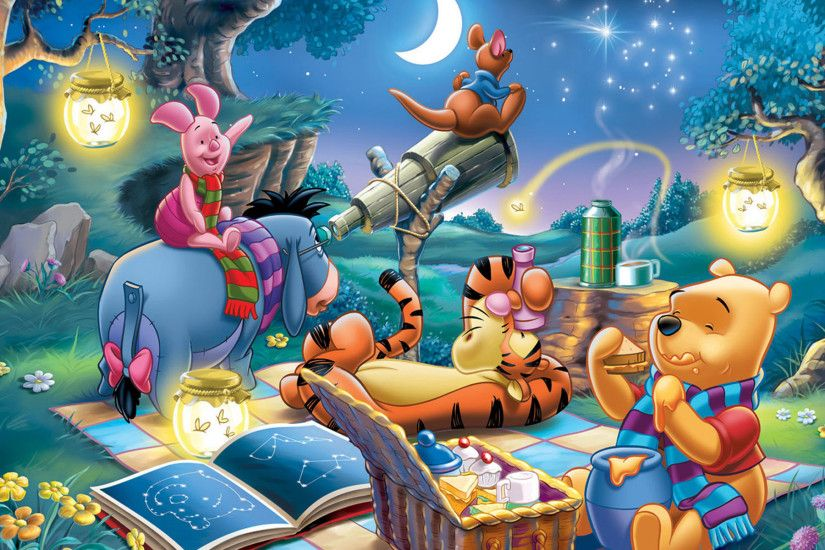 Winnie The Pooh Night Party