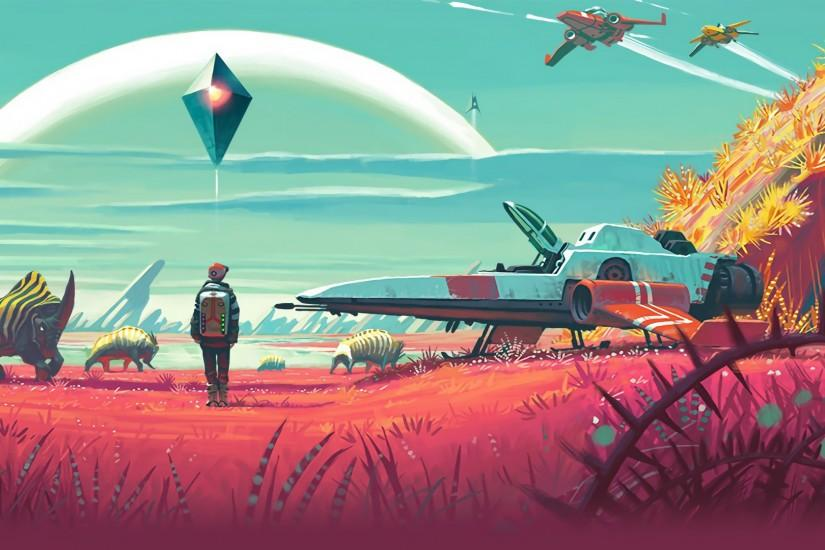 free download no mans sky wallpaper 1920x1080 for htc