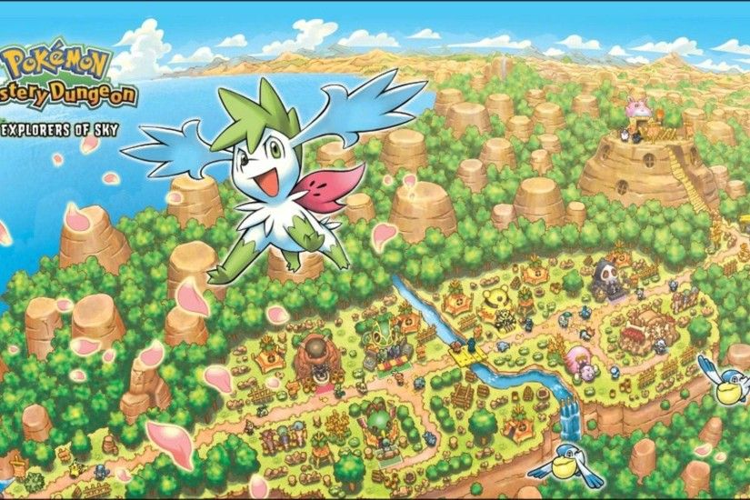 Best VGM 1101 - Pokemon Mystery Dungeon : Explorers of Sky - Temporal Tower  - YouTube