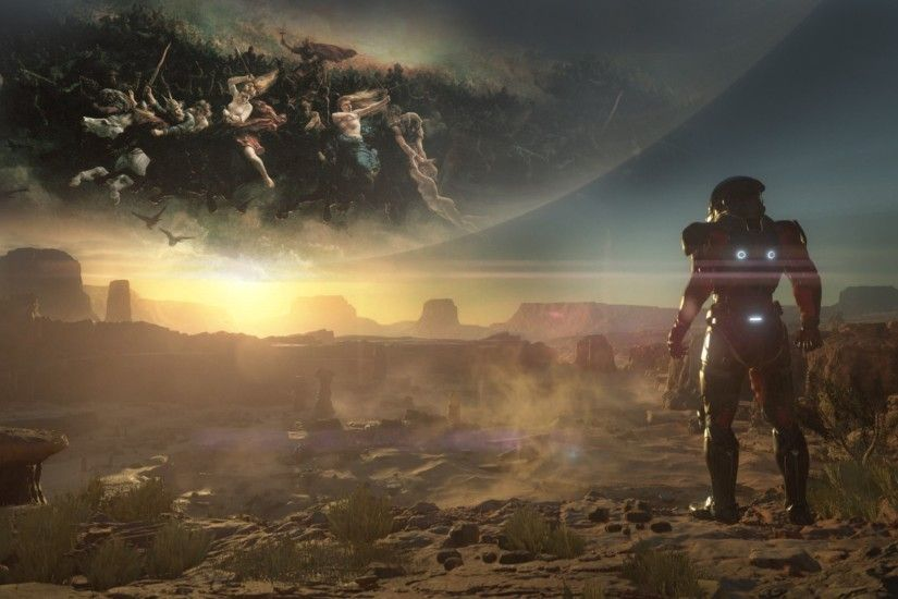 Launch Xbox One Mass Effect Andromeda 4K Wallpaper