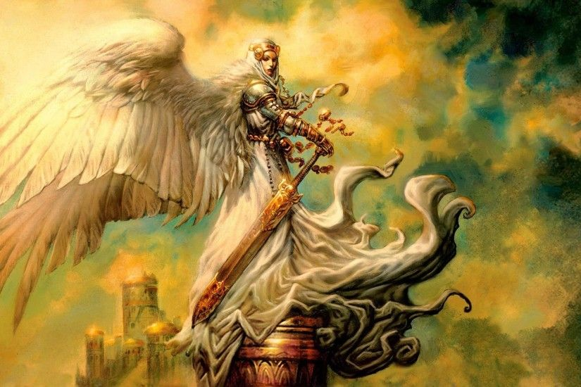 Angel Warrior. | fantasy angel warrior Wallpaper Backgrounds