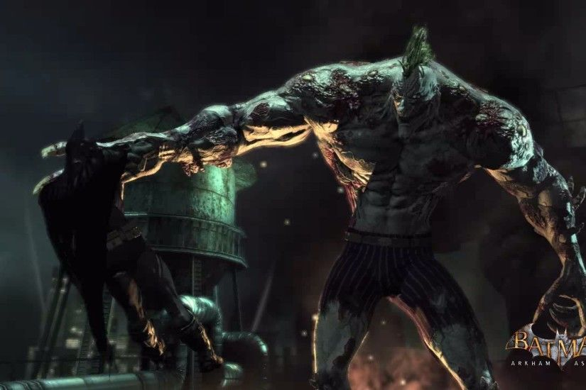 Image - Batman-Arkham-Asylum-Wallpaper -yuiphone-Joker-On-Titan-Virus-Battling-Batman.jpg | Villains Wiki | FANDOM  powered by Wikia
