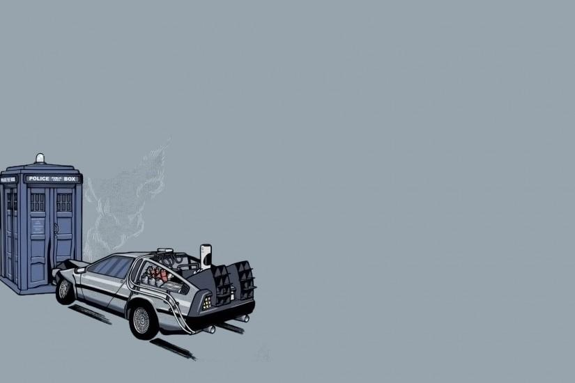 Doctor Who Back To The Future Wallpaper 541070