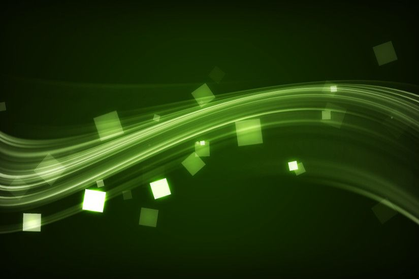 animated 3d green and black wallpaper