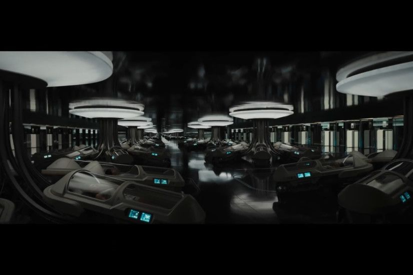 Inside spaceship Avalon - from movie PASSENGERS