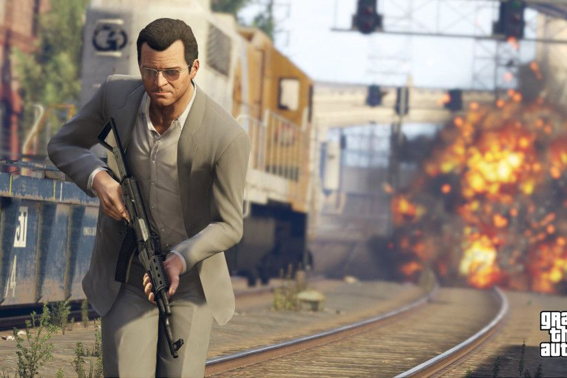 Grand Theft Auto 5 Michael HD Wallpaper