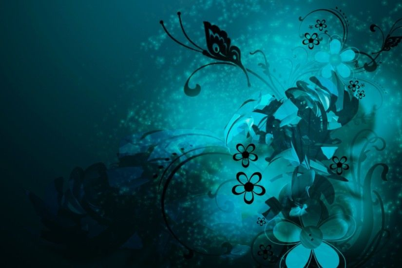 Teal Color Backgrounds 02 Wallpaper