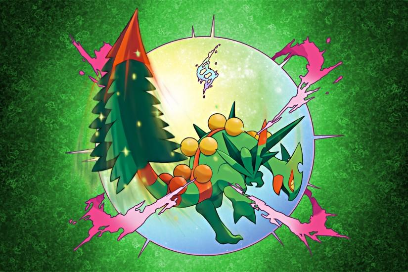 Glench 17 0 Mega Sceptile Wallpaper 3 by Glench