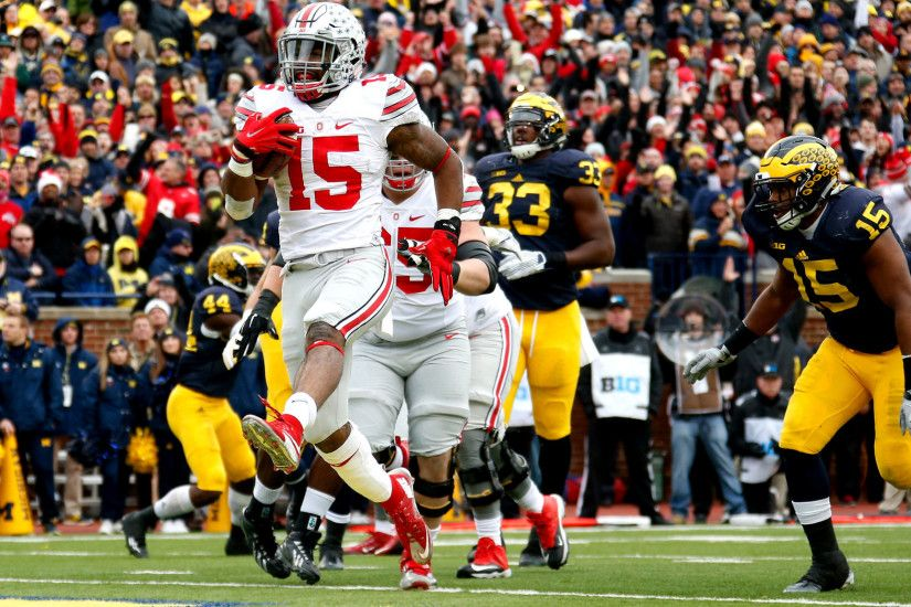 It's a Big House party for No. 8 Ohio State in 42-13 win over No. 10  Michigan - LA Times
