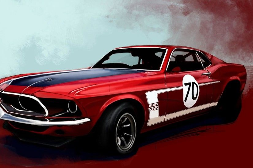 ... Muscle Mustang - Ford & Cars Background Wallpapers on Desktop . ...