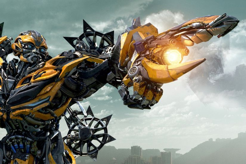 Preview wallpaper transformers age of extinction, autobot, bumblebee  1920x1080