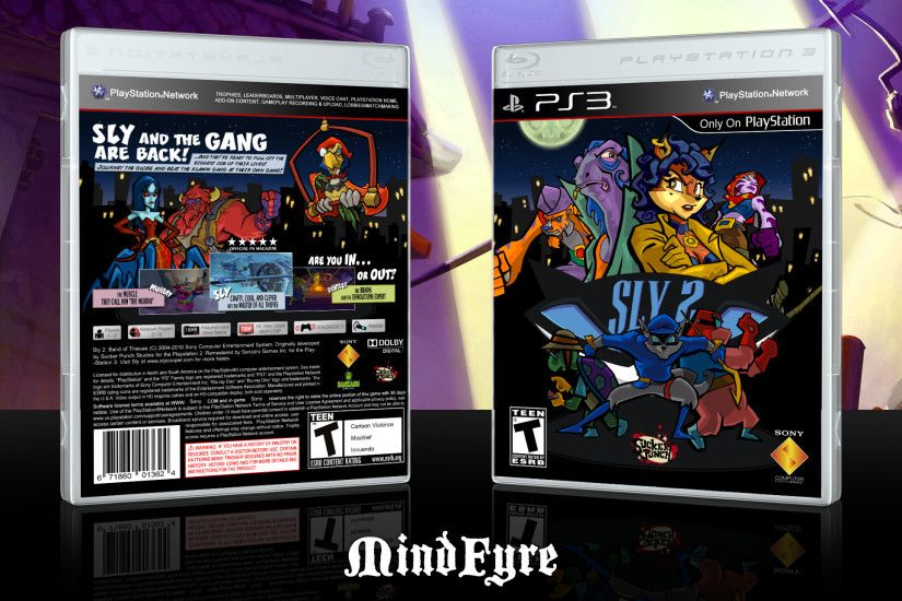 ... Sly 2: Band of Thieves PS3 Cover by MindFyre