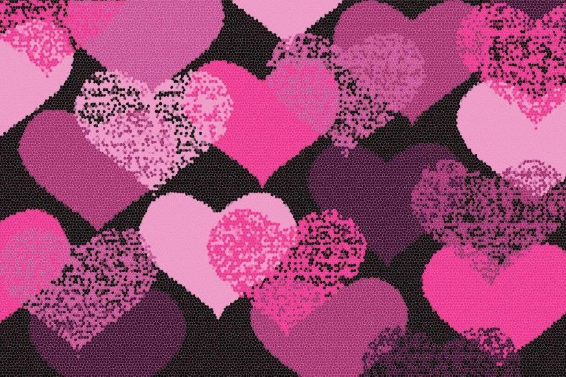 Cool Love Pink Wallpaper - WallFinest