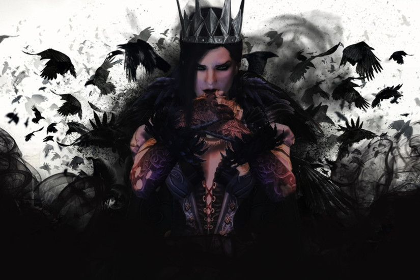 Darkness, Goth Subculture, Queen, Snow White, Seven Dwarfs HD Wallpaper,  Music Picture, Background and Image