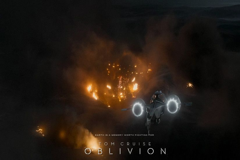 Oblivion is directed by Joseph Kosinski from a script that was rewritten by  Michael Arndt (Toy Story 3, the upcoming Star Wars: Episode VII).