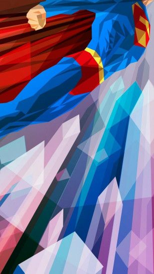 Preview wallpaper superhero, superman, bright 1440x2560