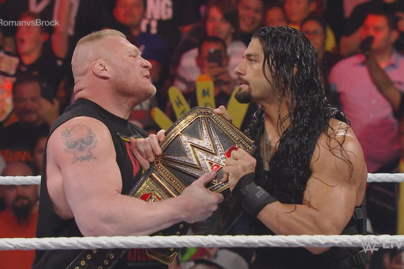 1920x1080 Jim Ross Likes The Idea Of Roman Reigns And Brock Lesnar Facing  Off At WrestleMania