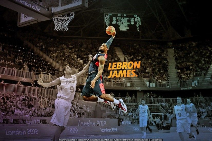 Slam dunk nba basketball lebron james championship miami heat .