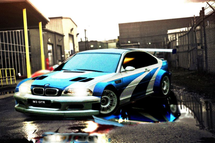 ... Bmw M3 GTR NFS Most Wanted Wallpaper HD by Gothicdiamond99