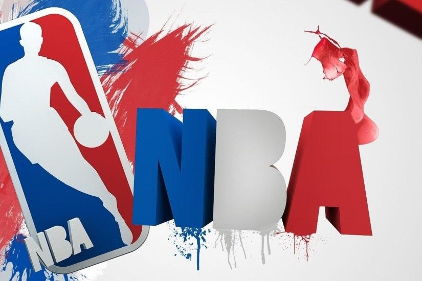 Nba Basketball Logo Wallpaper Hd Desktop 3256 1023 Wallpaper | HD .