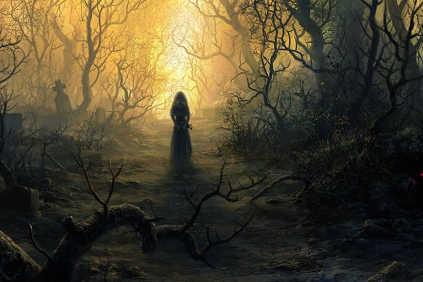 Dark Fantasy Landscape Wallpaper Cool HD