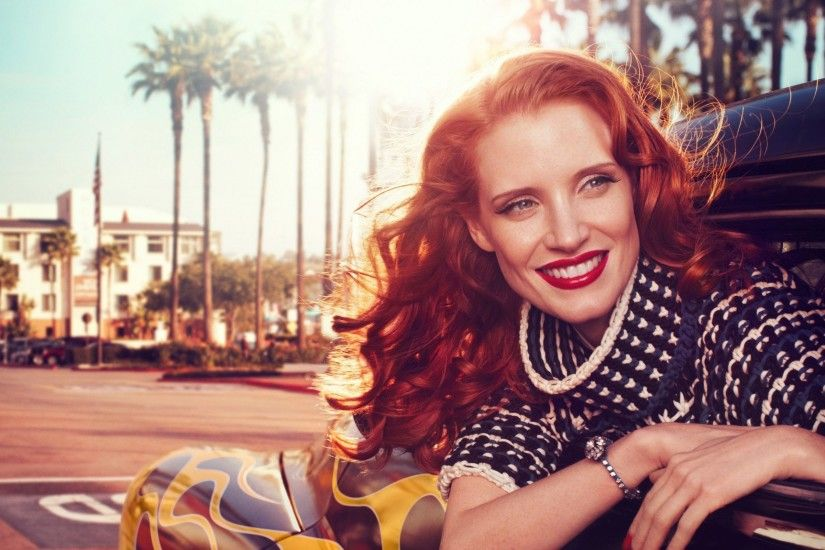 jessica chastain widescreen wallpaper 7212