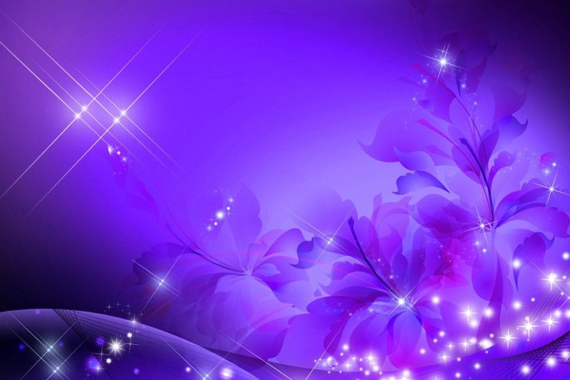Glorious Purple Flowers Design Glimmer Lavender Abstract Glow Stars Spring  Summere Glitz Sparkle Flower Wallpaper Galaxy