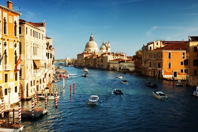 Venice Italy The Grand Canal 1920x1080 free Screensaver wallpaper