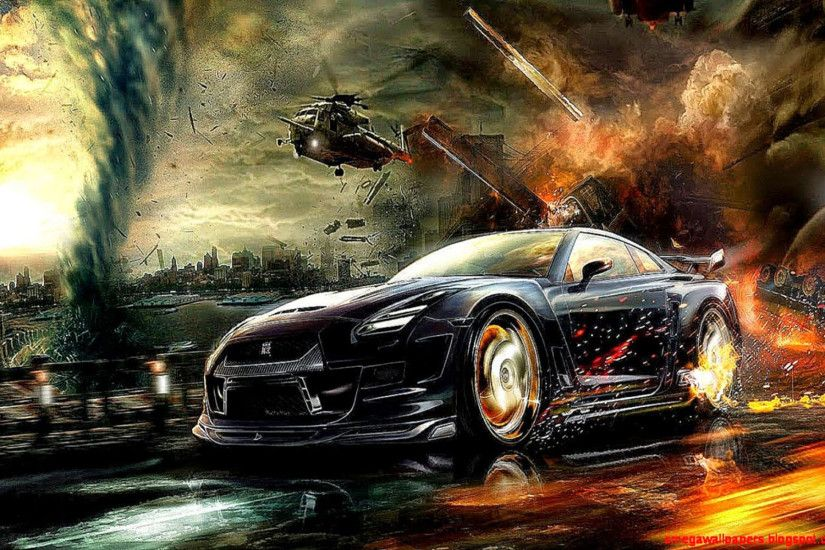 ... Beautiful and Great looking 3d car wallpapers HD