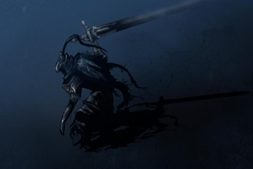 Artorias Wallpaper Retouched -- For Those Who Dislike White Desktops ...