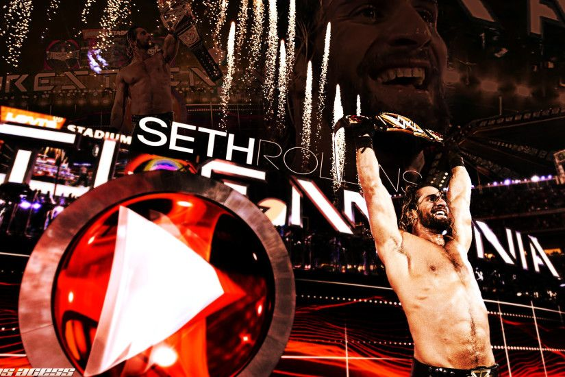 1920x1080 WWE Champion Seth Rollins Wallpaper HD Pictures