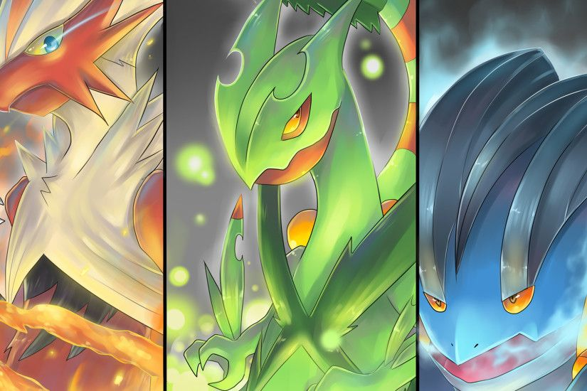 2 Mega Sceptile (Pokémon) HD Wallpapers | Backgrounds - Wallpaper Abyss