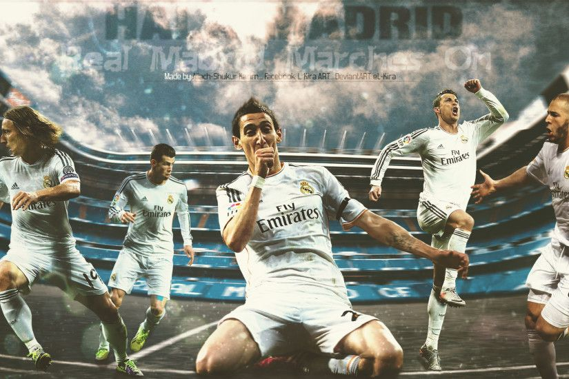 ... Real Madrid - Marches On | 2014 Wallpaper by eL-Kira