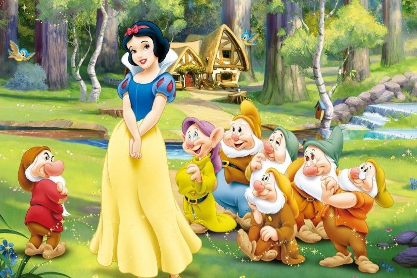 Snow White And The Seven Dwarfs wallpaper - Cartoon wallpapers - #