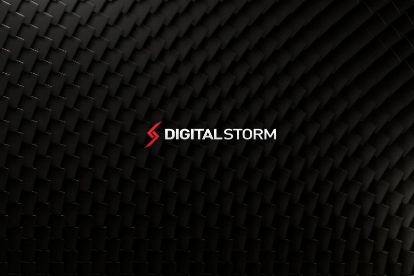 f. Digital Storm Stacked Carbon Wallpaper