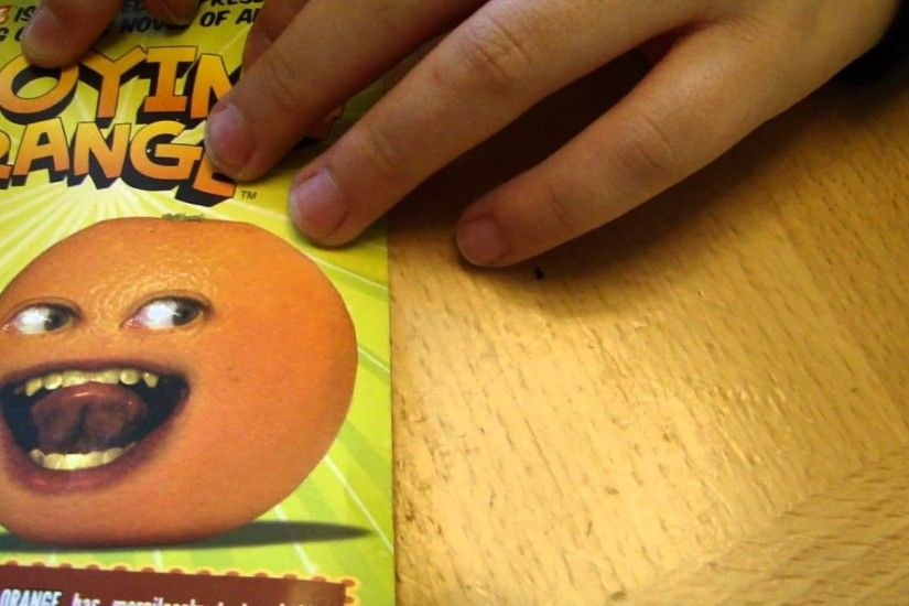 Annoying Orange DVD Vol. 1 Escape from the Kitchen by Spiderman Jerry -  YouTube