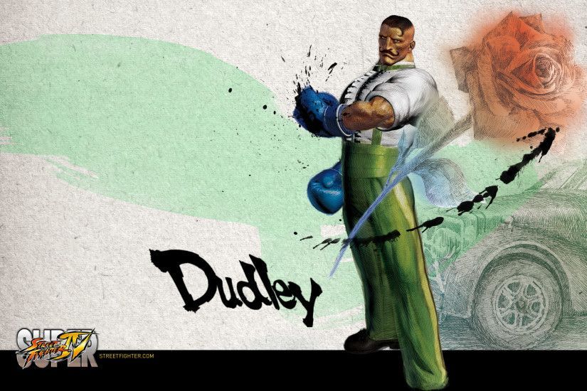 Super Street Fighter 4 Dudley Wallpaper