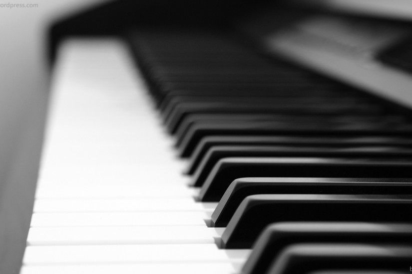 Black and White Piano Pictures HD wallpaper background | Music