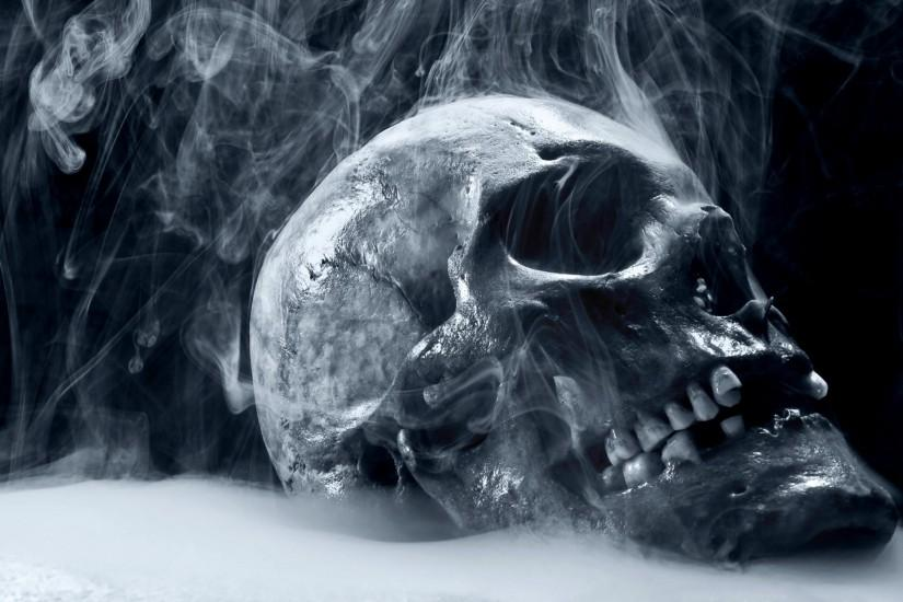 Dark Skull Horror Scary Creepy Spooky Evil Occult Bone Teeth Eyes Steam  Mist Cold Frozen Cg Digital Art 3d Macabre Death Reaper Wallpaper At 3d  Wallpapers