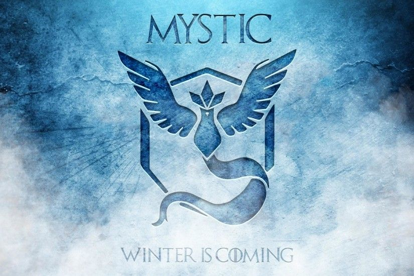 Winter is Coming! Game of Thrones Wallpaper for Team Mystic!