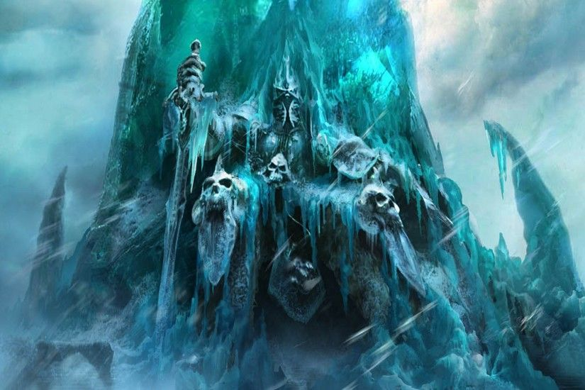 Video Game - World Of Warcraft: Rise Of The Lich King Wallpaper